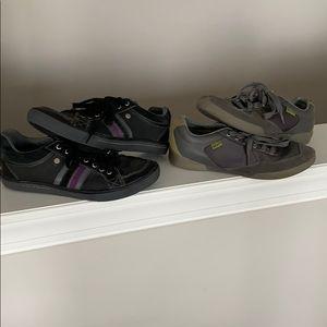 2 pairs Penguin sneakers 9 1/2